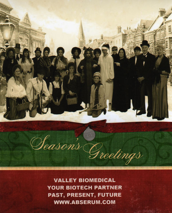 Enlarge: Happy Holidays from everyone at Valley Biomedical